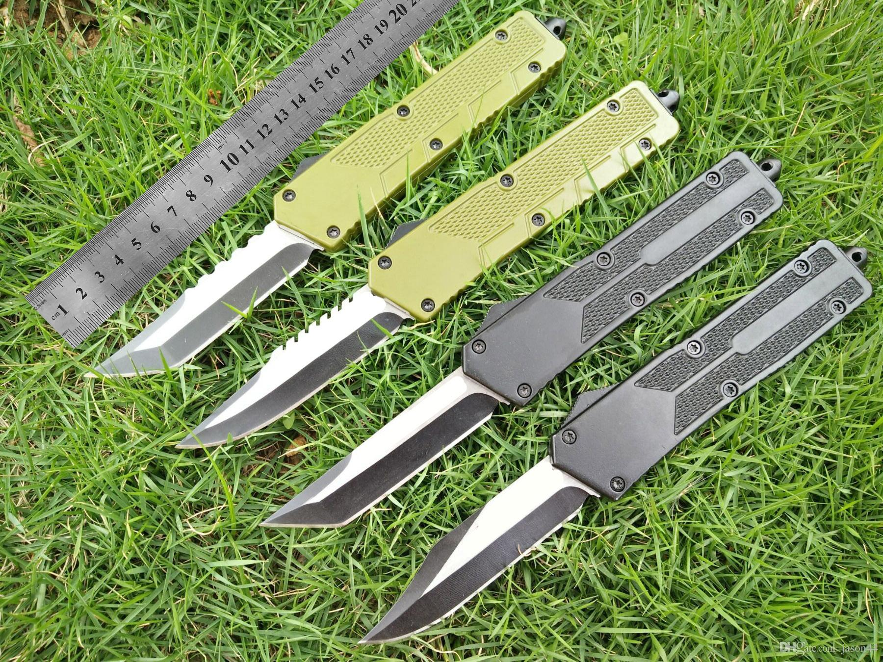 AUTO 4models new Benchmade BM3300 BM3500 A07 UTX85 combat knives Double action clip camping cutting tool folding tactical EDC pocket knife