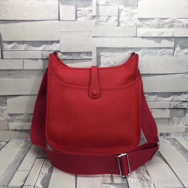 kadınlar ücretsiz gönderim için gerçek dana derisinden mükemmel kalitede marka tasarımcı omuz çantası