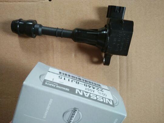 Катушка зажигания OEM 22448-8J115 подходит для Nissan Maxima Murano Pathfinder Quest Xterra Infiniti I35 QX4 02 03 04 05 06 07