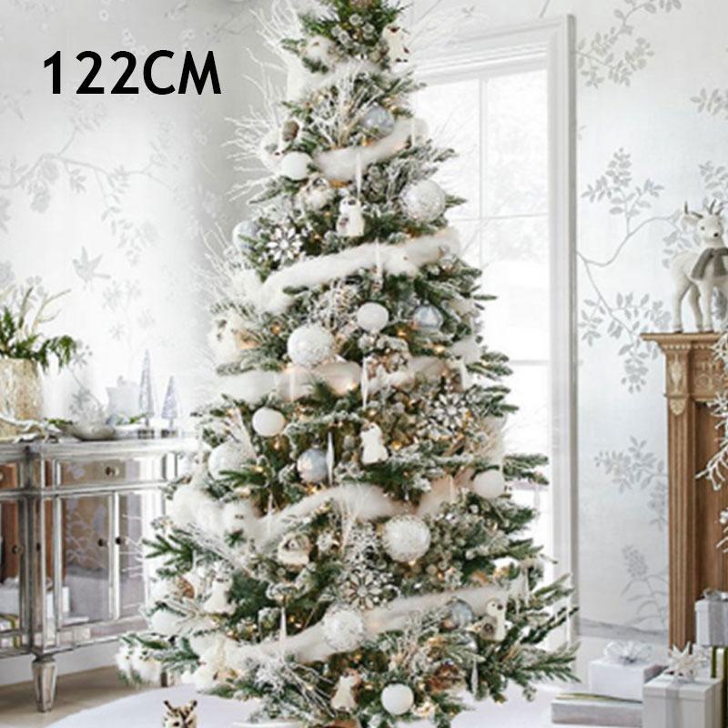 Alfombra no tejida decoración envolvente árbol de Navidad falda blanca felpa 90cm / 122cm del partido Inicio del ornamento de Navidad