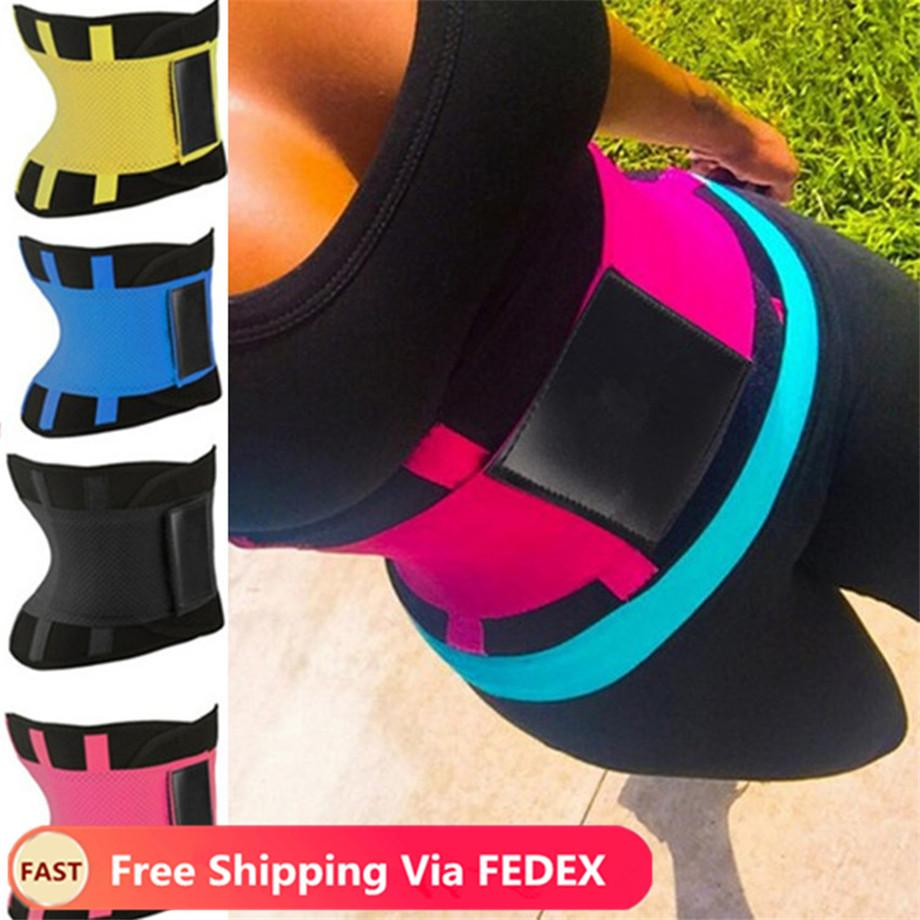 Thermo suor Womens cintura Hot Cincher Trimmer Tummy Slimming Belt Corpo Shapers Latex cintura Mulher instrutor pós-parto Unisex Corset Shaper