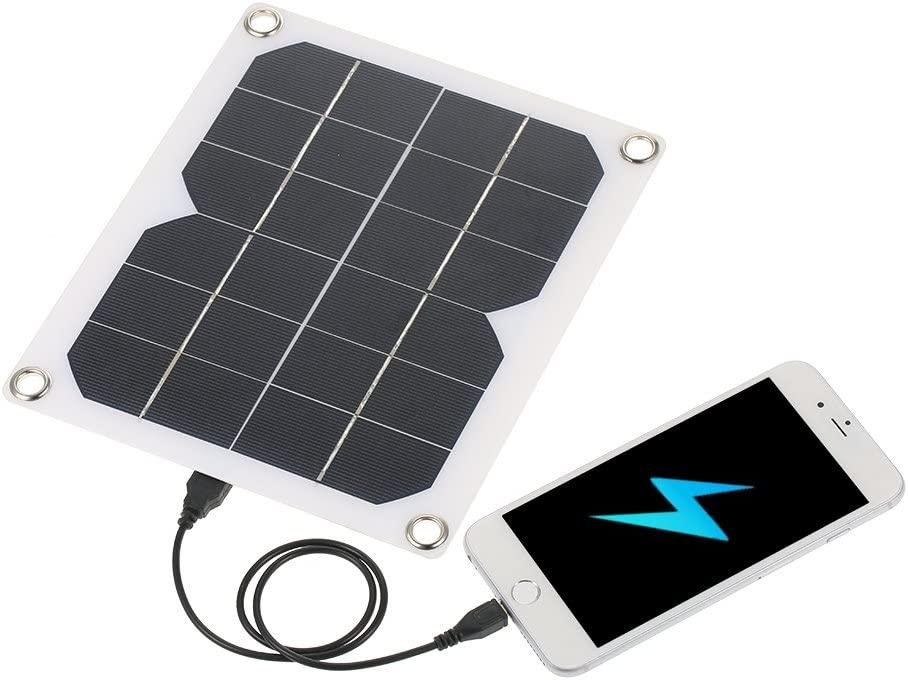 Solar Charger for Backpacking solar powered charger for iphone solar panel bird proofing