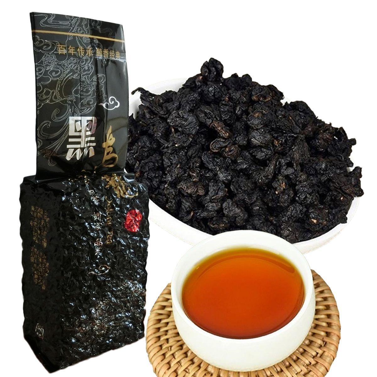 Sıcak satış 250g Çin Organik Oolong Çay Siyah Oolong Fırında Tieguanyin Siyah Çay Sağlık Yeni Bahar Çay Yeşil Gıda