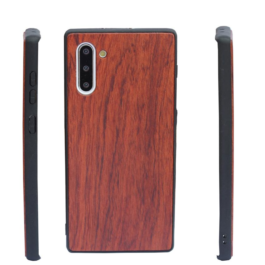 Best Rosewood TPU Phone Case For Samsung Note 10 S10 PLUS S20 Ultra Iphone X SE 2 11 7 plus Wooden Protective Shell