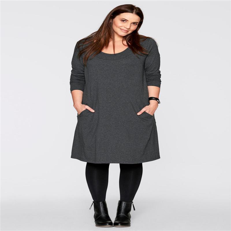 Mode Frauen Blusen 2017 Herbst Langarm-Hem-Baumwollhemden beiläufige lose Blusas Tops Plus Size S-3XL