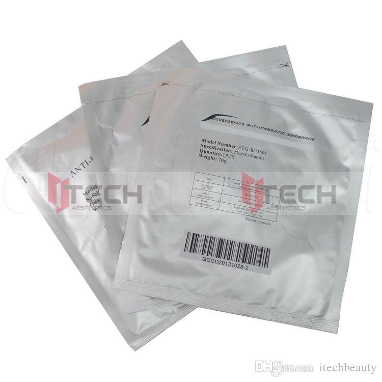 Anticongelante de membrana anti congelación membrana protectora criolipólisis anticongelante de membrana para la congelación de grasa Kryolipolysis Máquina 110G 70G 60G