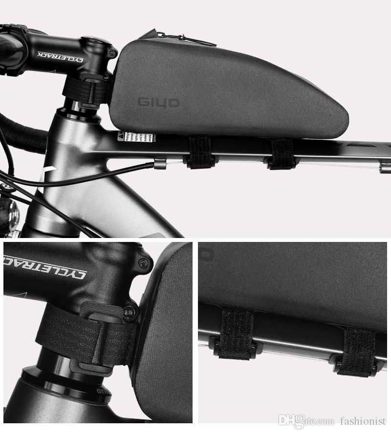 방우 자전거 가방 전면 프레임 자전거 튜브 가방 자전거 삼각형 가방 짐 바구니 최고 품질 무료 배송