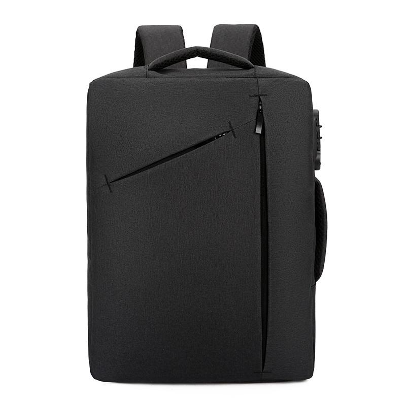New Men Backpack Laptop Anti theft Code Lock 15.6 Inch Business Backpack For Women Men Students School Bag Mochilas Mujer HombreMX190903