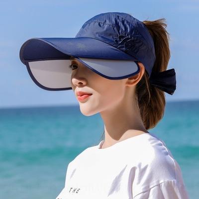 JMsEj 2019 all'aperto tutto-fiammifero di estate della protezione di viaggio retrattile tirare Consiglio sole sole-ombreggiatura faccia-ombreggiatura 2019 cappello anti-UV esterna della protezione di vuoto vuoto