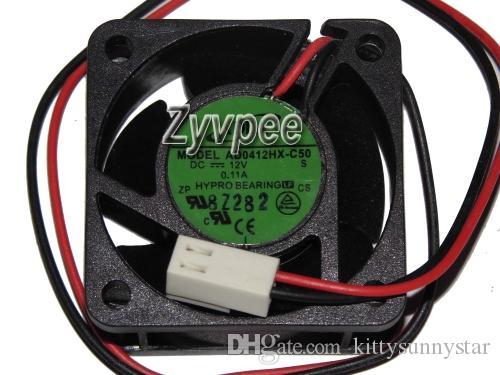 Zyvpee® 40x40x20mm AD0412HX-C50 4cm 12V 2Wire Drucker Fan Rectifier Fan