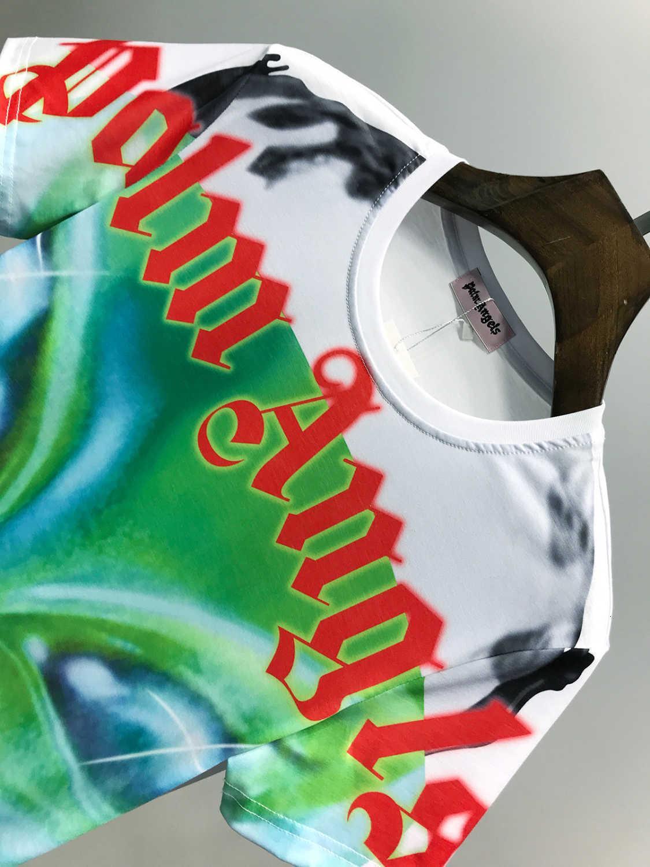 Wonderful 20ss de Moda de Nova Original Design Os homens e mulheres T Shirt Exquisite Pure Cotton T Shirt Gtf1103