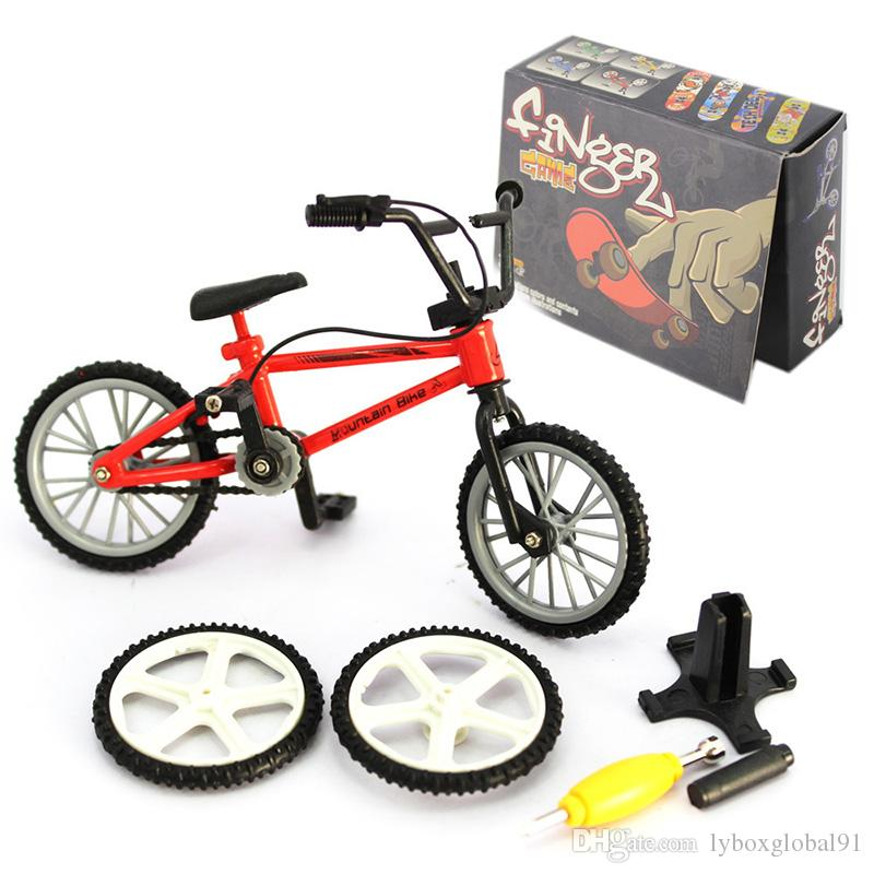 Mini Finger Mountain Bikes Toys Finger Cycle Gift Children Toys Funny Excellent