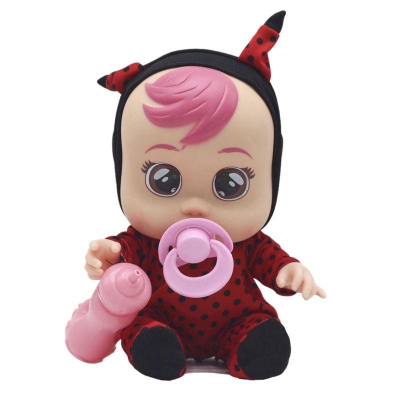 Pleurer Doll Surprise Larmes Doll Vocal Music Play Cute girl Maison Toy