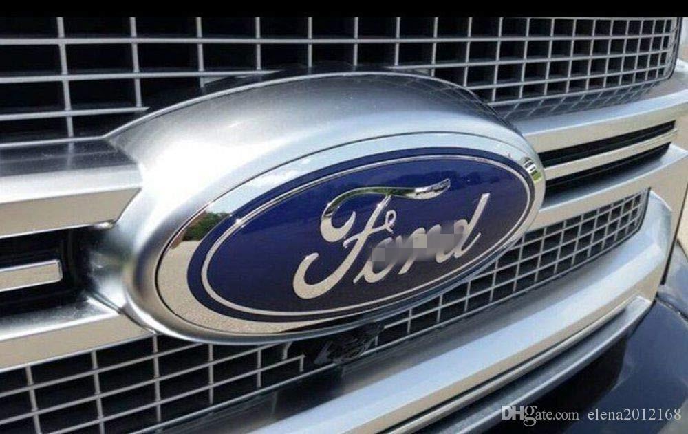 "Ford Front Grille Tailgate 엠블럼, 타원형 6 ""X2.4"", 07-10 가장자리, 05-11 탈출구, 06-10 익스플로러, 05-11 explicit"