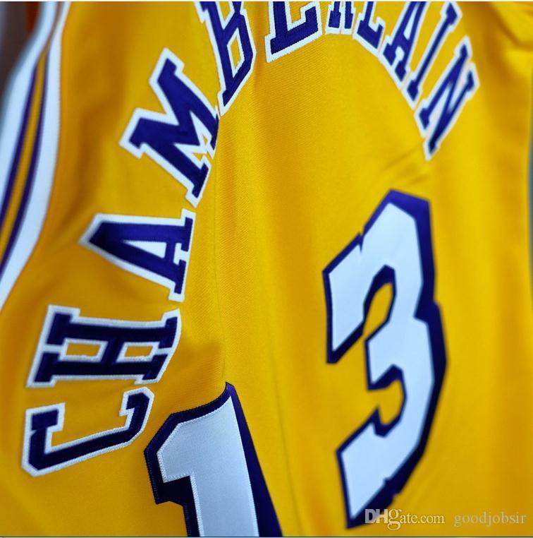 Benutzerdefinierte Männer Jugend Frauen Jahrgang Wilt Chamberlain Mitchell 1971-1972 College Basketball-Jersey-Größe S-4XL oder benutzerdefinierte beliebige Namen oder Nummer Jersey