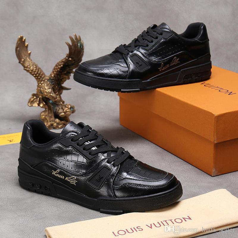 Scarpe nuovo allenatore uomini di arrivo della scarpa da tennis con origine di sicurezza esterna Walking traspirante stile dell'annata Footwears Fashion Low Top Sport Uomo Scarpe
