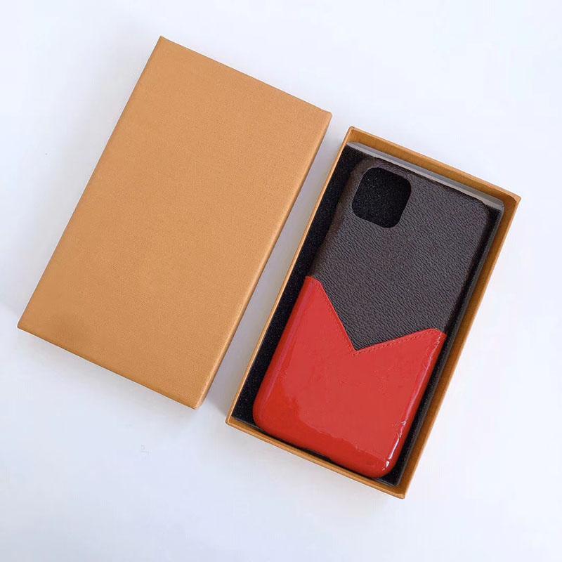2019 تصميم جديد مع قضية الهاتف بطاقة جيب للآيفون برو 11 ماكس للحصول على XS XR MAX 7 8plus الحالات فاخر مصمم الهاتف قطرة شحن