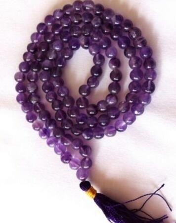 Livraison gratuite vente chaude de Gemstone108 Mala perles prière bouddhiste