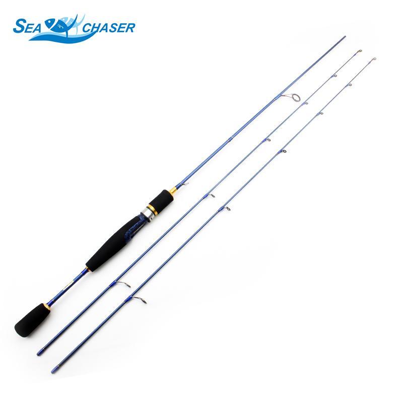 Barato ul vara de fiação 2-6g isca de peso ultraleve hastes de linha de peso ultra light spinning vara de pesca Frete grátis