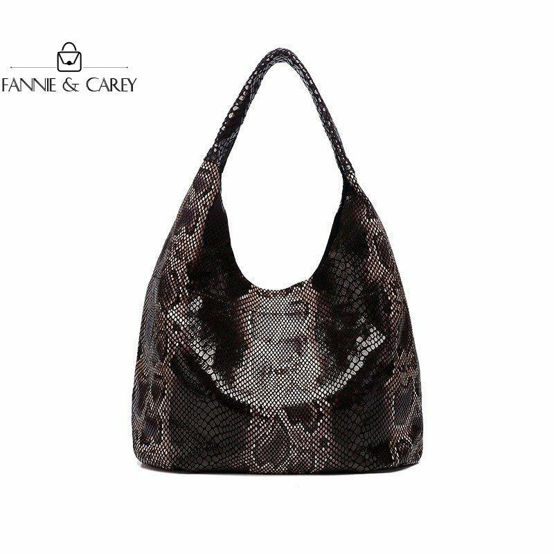 2020 signore di cuoio della moda di New modello borse eleganti serpentina delle donne Borse Tote borse famose Borsello