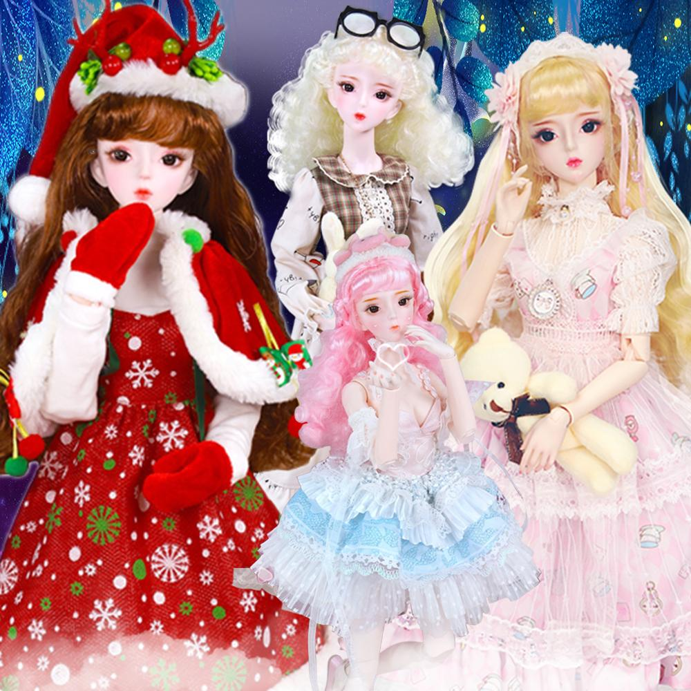Dream Fairy toy 1/3 bjd 62cm joint body natural skin with clothes shoes, AI YoSD MSD SD Kit Toy Baby Gift DC CX200608