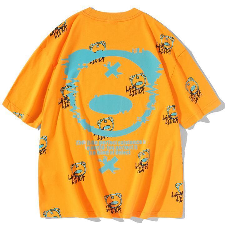 Hot Mens Designer T-shirt de haute qualité Hommes Femmes Couples Casual manches courtes pour hommes ronde T-shirts col Tops Taille M-3XL