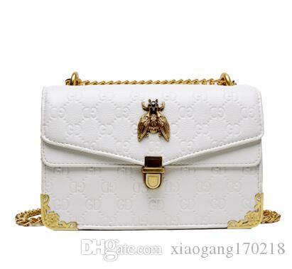 A forma das mulheres bolsa sacos novos carta ombro carteira de alta qualidade crossbody Mensageiro bolsas de mulher bolsa de couro sacos WH11785454