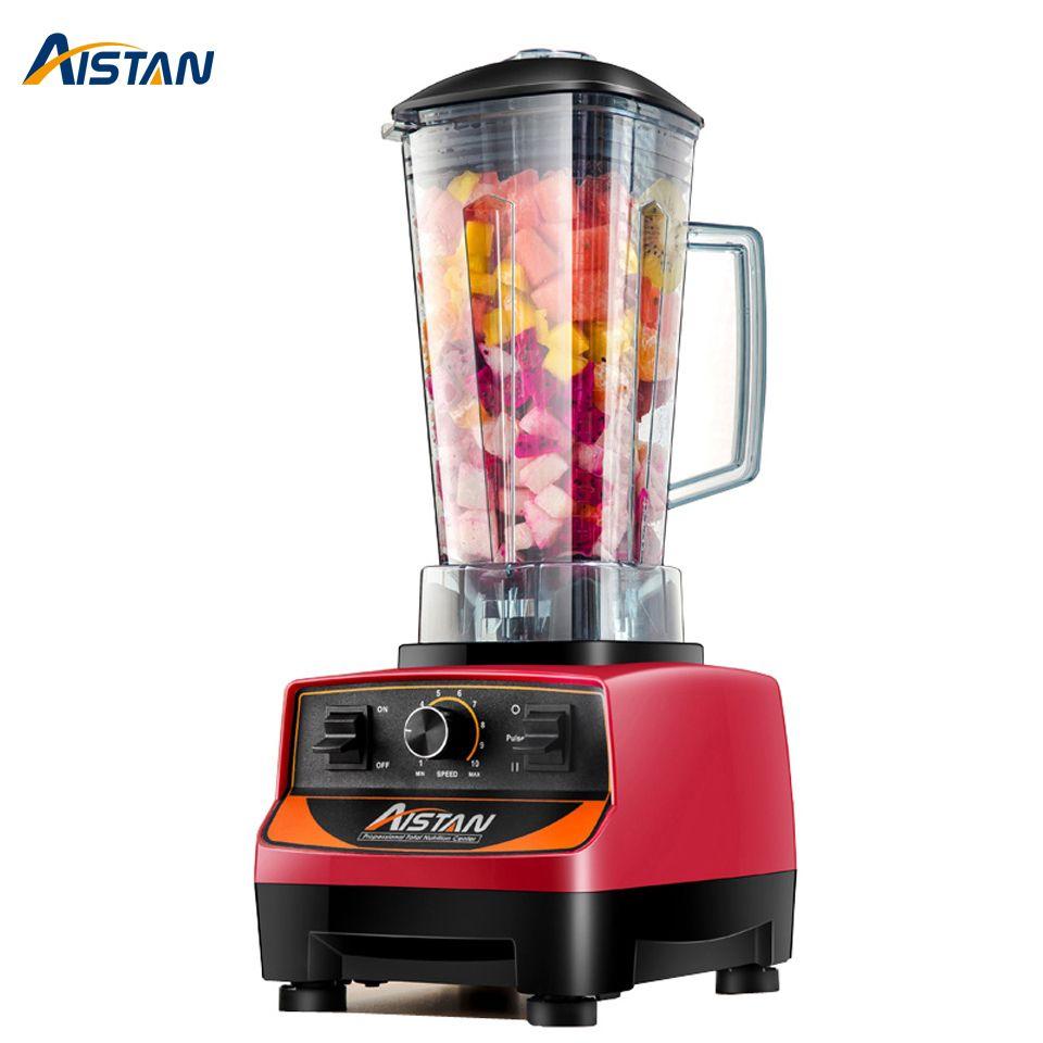 A5200 eléctrico de alta velocidad mezclador mezclador máquina de procesador de alimentos Máquina de procesador de alimentos 2 litros 2200W BPA gratis con cuchillos importados cuchillas