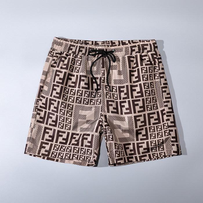 20SS Summer Beach bande Plaid Top pantalons de plage hommes été de plage de surf Polo maillot de bain de style européen et américain H47894547