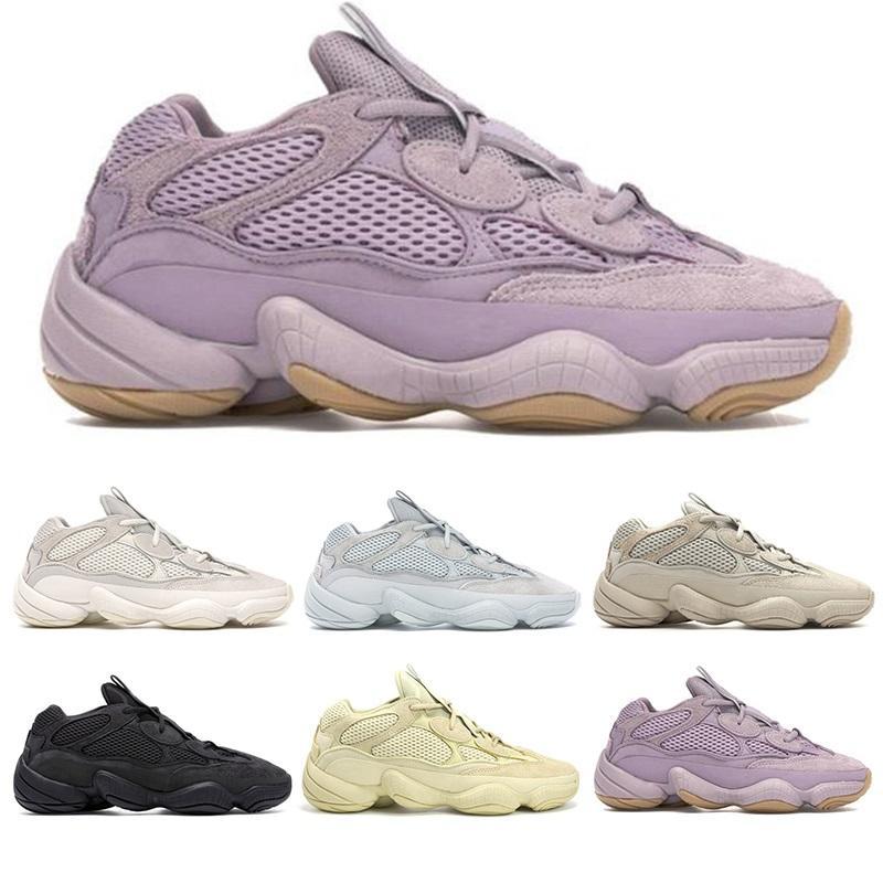500 Running Shoes Soft Vision Piedra hueso blanco Luna Amarillo Negro Utilidad Blush sal para mujer para hombre de las zapatillas de deporte Deportes Los corredores en línea Venta