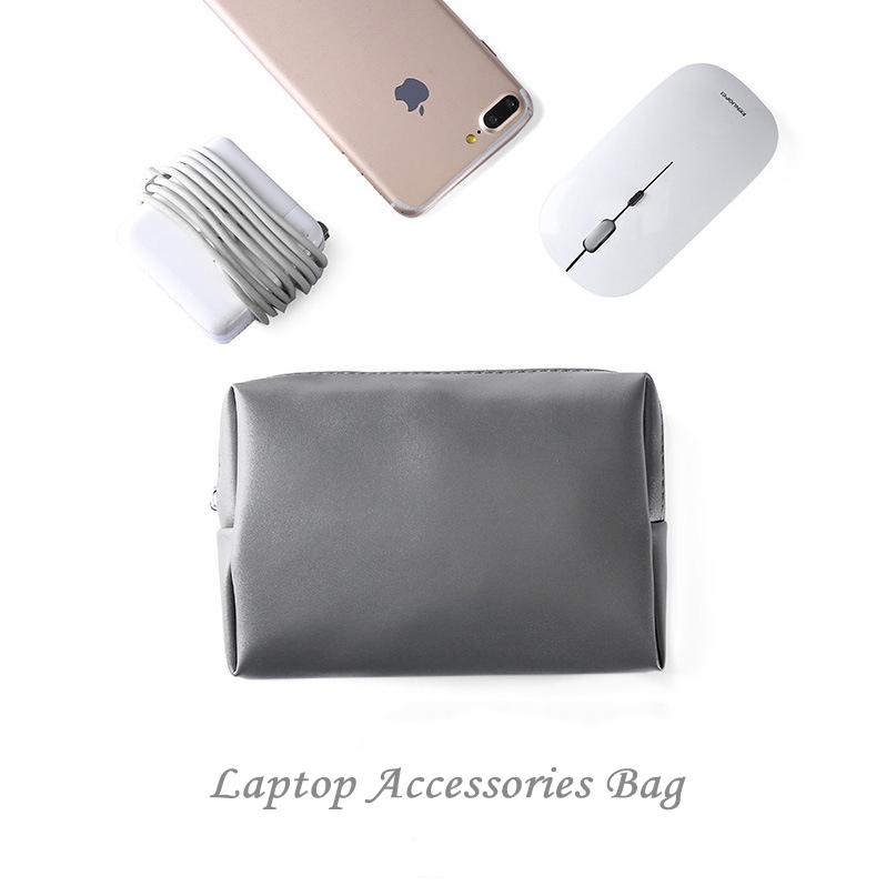 Portátil pequeno adaptador AC carregador de armazenamento do cabo Bag Bolsa para Acessórios Laptop Computer Mouse Eletrônica Organizador