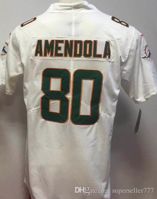 2019 camisetas para hombre de Miami 17 21 29 80 91 camisetas camisetas Vapor Limited de fútbol americano 00