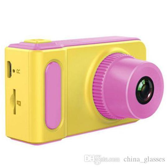 2PCS 2020 الساخن للأطفال البسيطة كاميرا رقمية 800 مليون بكسل SLR الصغيرة رئيس الكاميرا الرياضية لعبة الهدايا