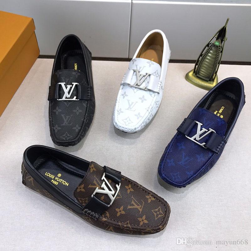 2019 nueva moda superestrella de los hombres zapatos casuales diseñador de lujo zapatos deportivos de alta calidad letra de cuero de impresión en relieve tamaño 38-45 1103