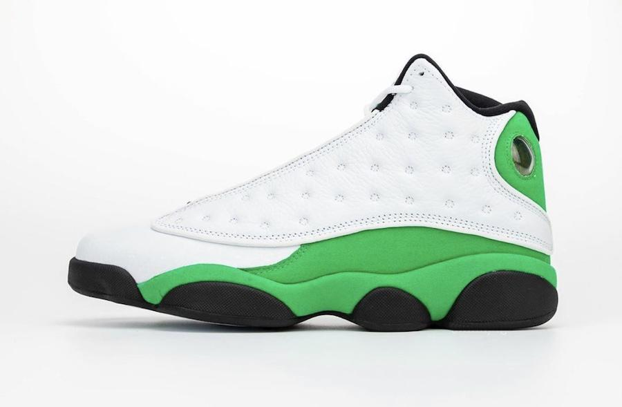2020 Lucky Green 13s DB6537-113 XIII 13 New Arrival Authentic Basketball Shoes Mens With Original Box Sports Sneakers