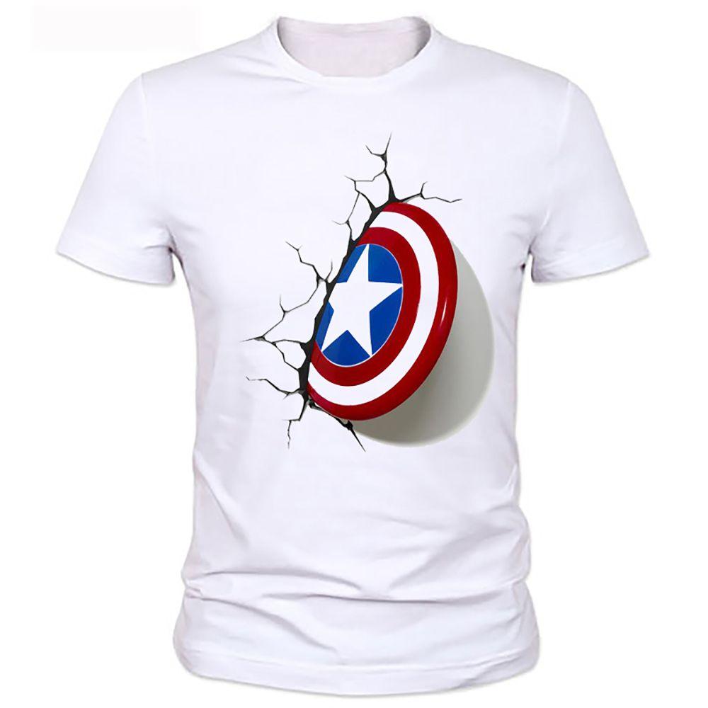 captain america 3d t shirt