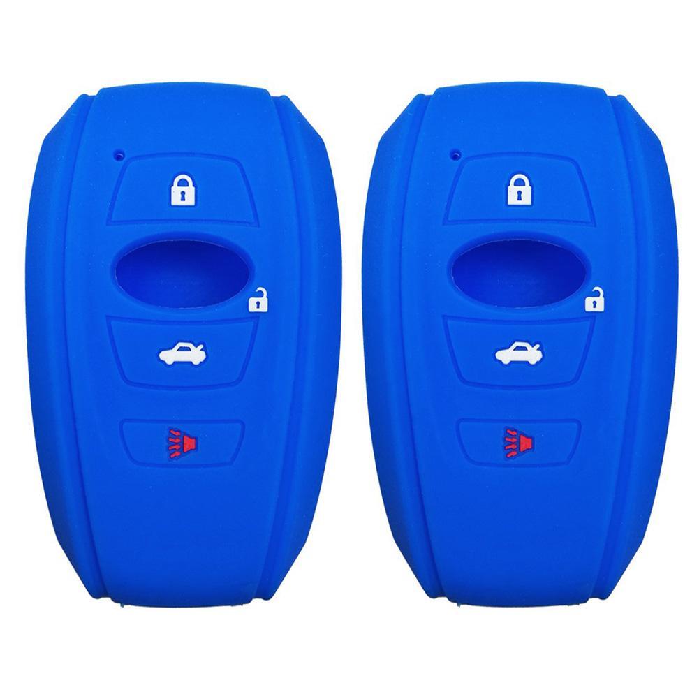 2PCS Soft Silicon 4 Кнопки Аксессуары Shell защита Пульт дистанционного управление Корпусом автомобиль Анти царапины брелок Cover For нержавеющего
