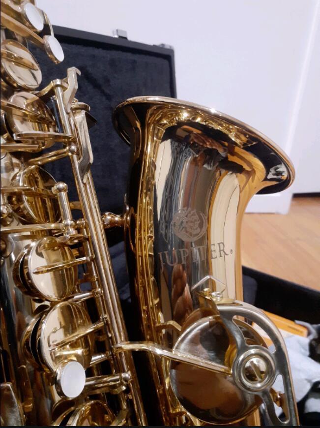 New JUPITER Marque série 500 JAS-500 Alto Saxophone Eb Sax Instruments de musique bon état