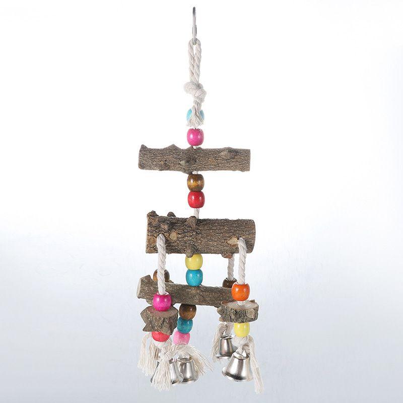 Papagaio Aves Natural Chinês Prickly Ash Madeira Bite Wire Drawing Brinquedos Amazon Mercadorias Em Estoque