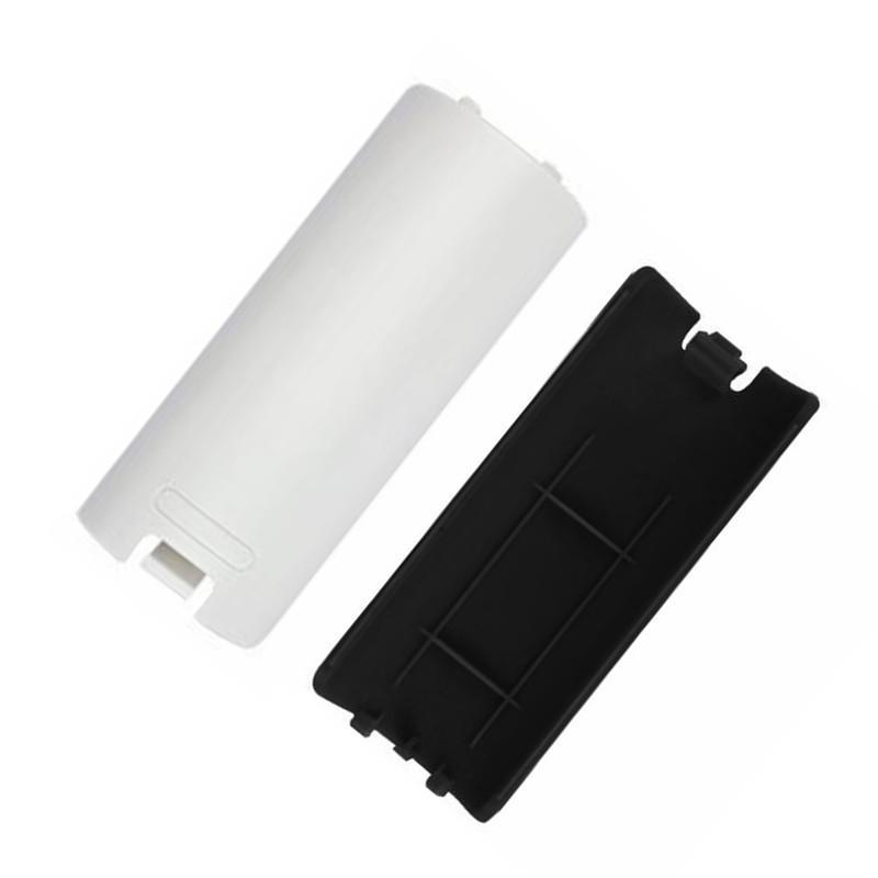 Pil Kapak Kasa Shell için Nintendo Wii Uzaktan Kumanda siyah beyaz renk Yüksek kaliteli hızlı sevkiyat