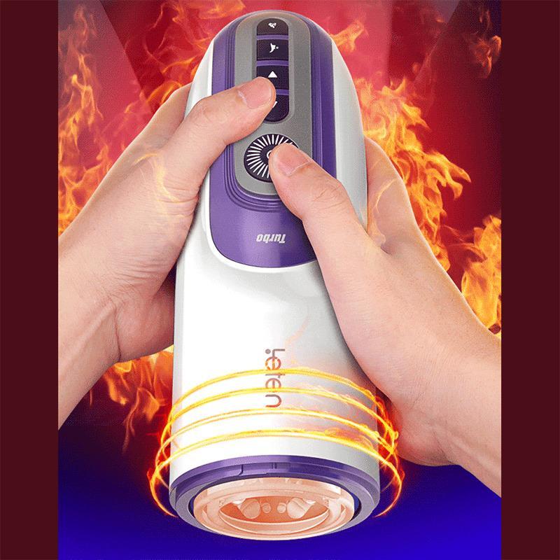 Piston Masturbator Voice Jouets Jouets Rétractables Pour Vibromasseur Silicone Y191010 Vagina Automatique Automatique Sexe Artificial Massager Fellation MPJ