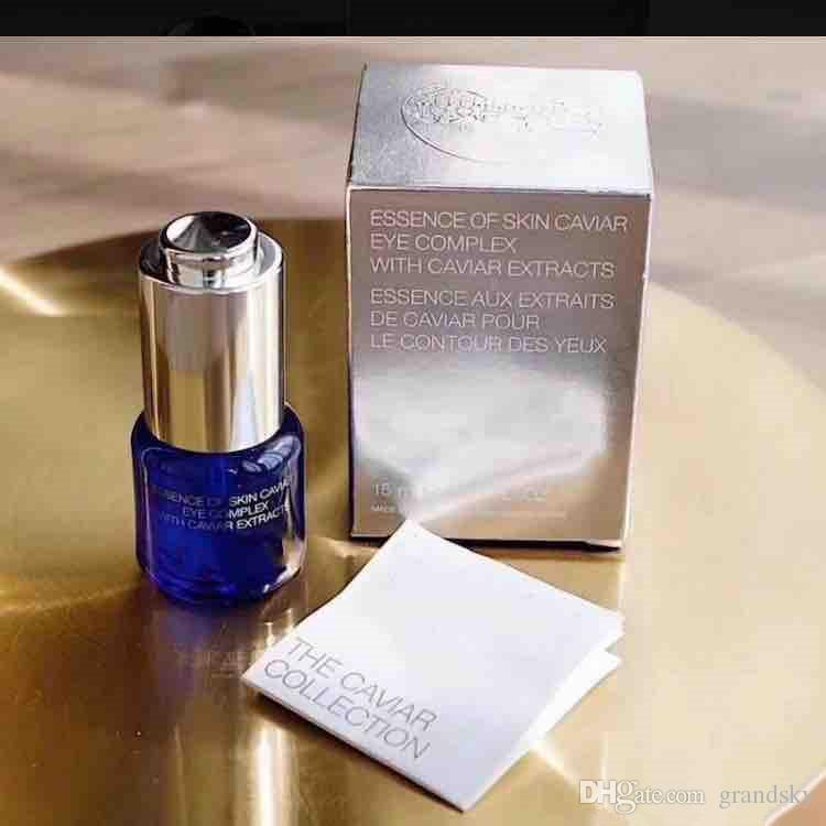 Factory price essence of skin caviar eye complex with caviar extracts 15ml eye skin care essence concentrate treatment lotion
