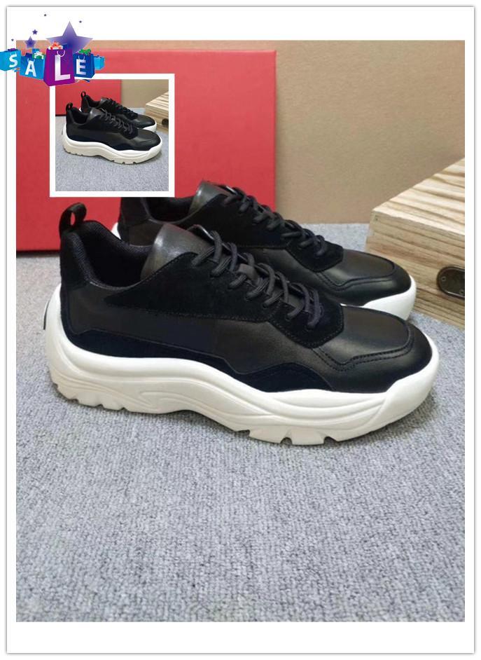 Fashion Shoes Casual Gumboy Calfskin Sneaker High Quality Mens Fashion Shoes Scarpe da uomo VL-795 Men Shoes Fashion Footwears Hot Sale O41