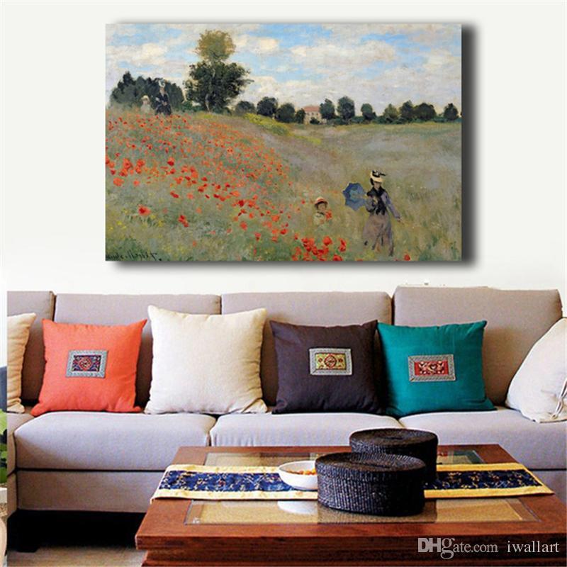 Claude Monet Impressionismo Paesaggio Pittura Immagine della parete Stampa Moderna Casa Camera da letto Decorazione Opere d'arte