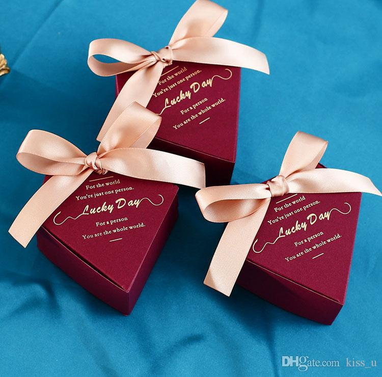 Creative Wedding Favors Supplies Candy Boxes Party Baby Shower