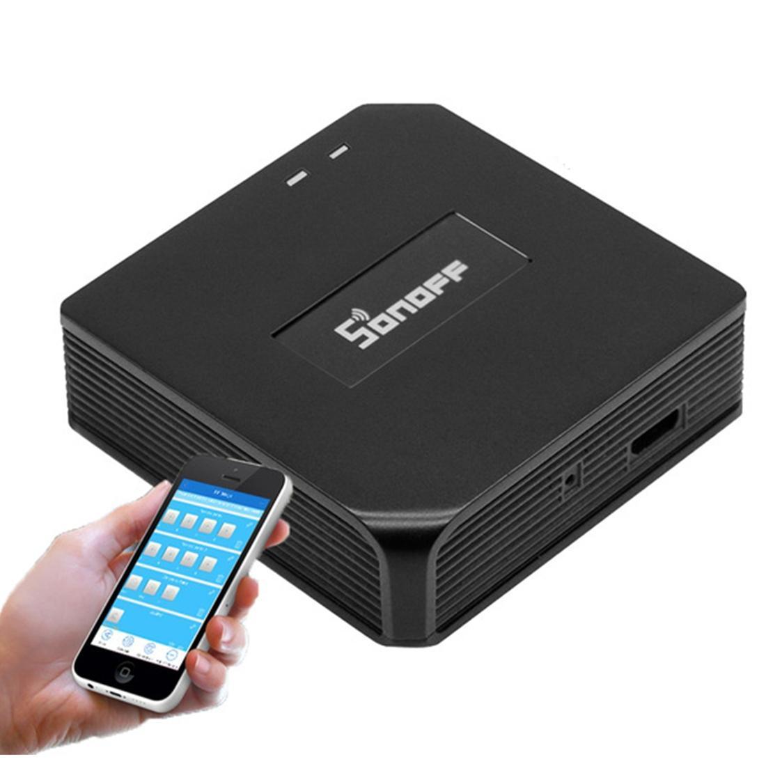 5V USB Sonoff eWelink gateway Wi-Fi para 433 sem fio RF Signal Remote Control
