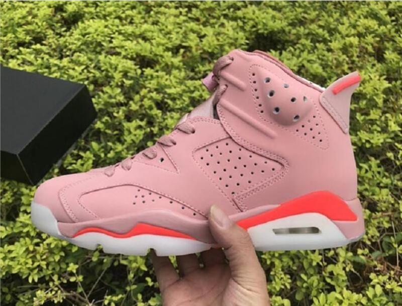 Haute Qualité New Exclusive 6 Millennial Rose Hommes Chaussures de basket-ball Designer AleAli May Special Edition VI Mode de sport Chaussures de sport