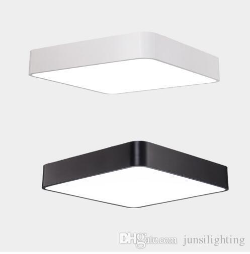 Quadratische Decken SLIM-Down Light LED 18W 24W 36W AC85-265V Wohnzimmer Aisle Schlafzimmer LED-Deckenleuchte