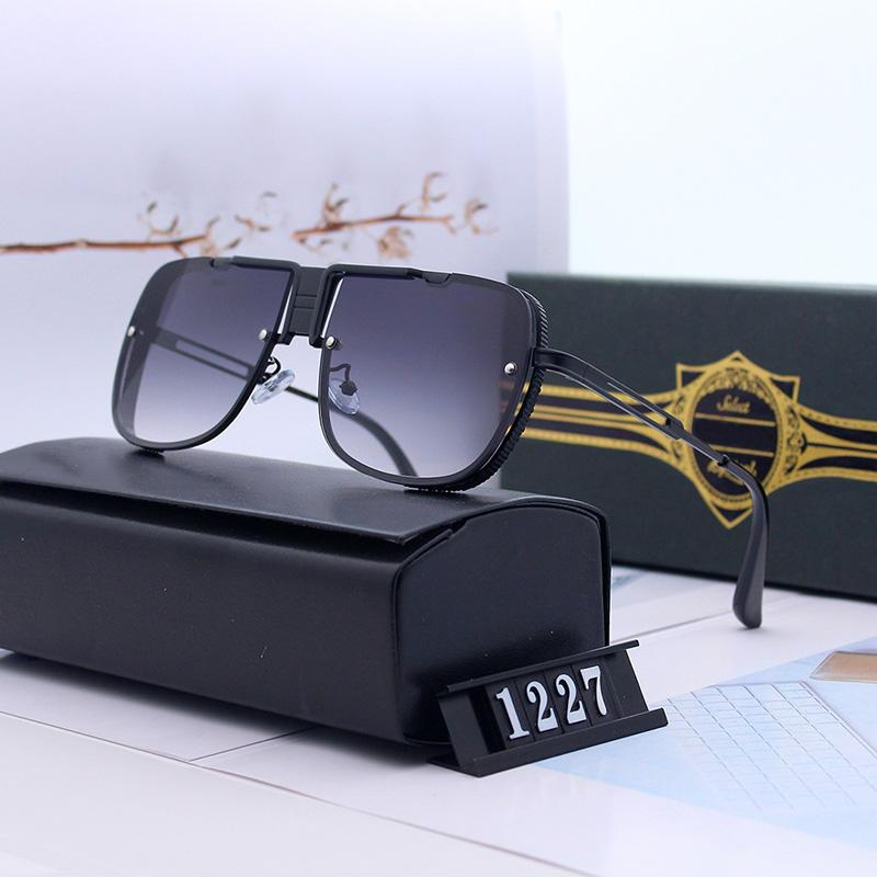 1227 New Style 2020 Sunglasses Men Marca Designer retro Sun Glasses Driving Oculos De Sol Masculino Grandmaster Praça Sunglass UV400
