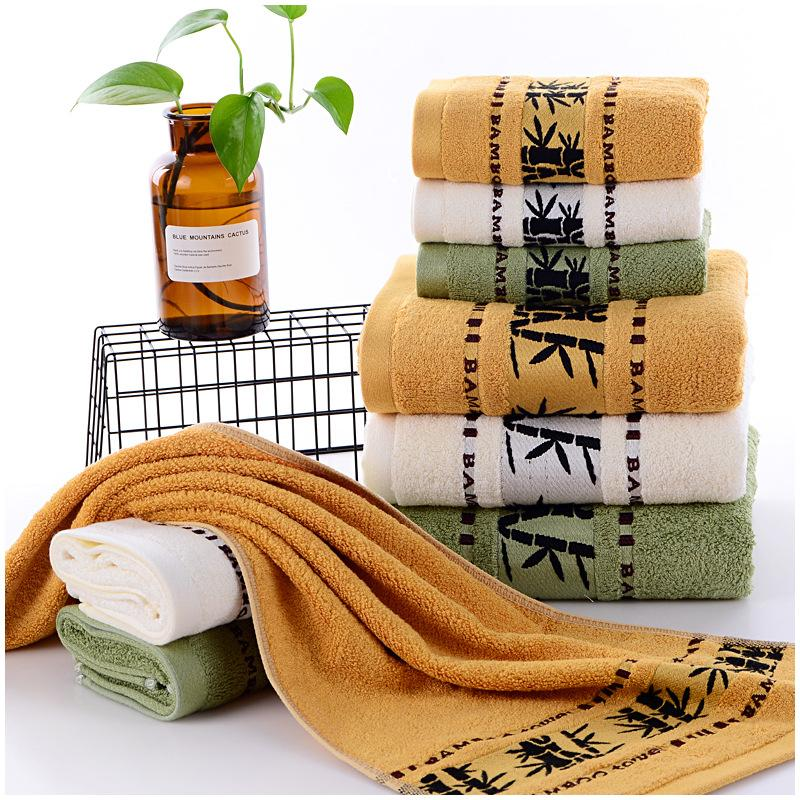 1 STÜCK Bambusfaser Verdicken Handtuch Trockenes Haar Schönheitssalons Friseur Spezielle Handtuch Großhandel Super Saugfähigen Gesicht Handtücher